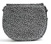 Суперстильная модная женская небольшая кожаная сумочка Galanty art. 3336