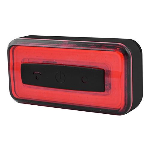 Ліхтар велосипедний Raypal RPL-2286-COB, вбуд. ак., ЗУ micro USB, Waterproof, Light Sensor