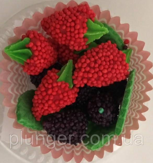 Цукрова прикраса для торта Сунички