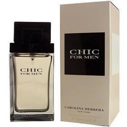 Оригинальный мужской аромат Carolina Herrera Chic Men