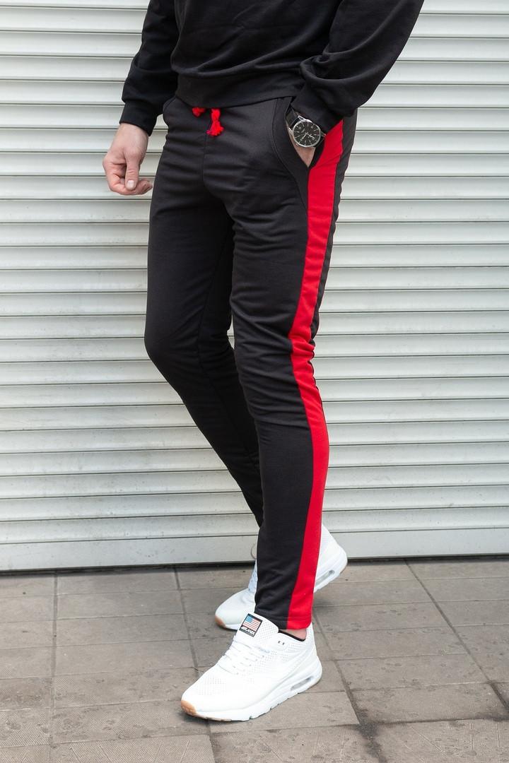 ad51cdb2 Спортивные мужские штаны зауженные со змейками: продажа, цена в ...