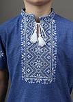 Традиционная вышитая футболка для мальчика , фото 2