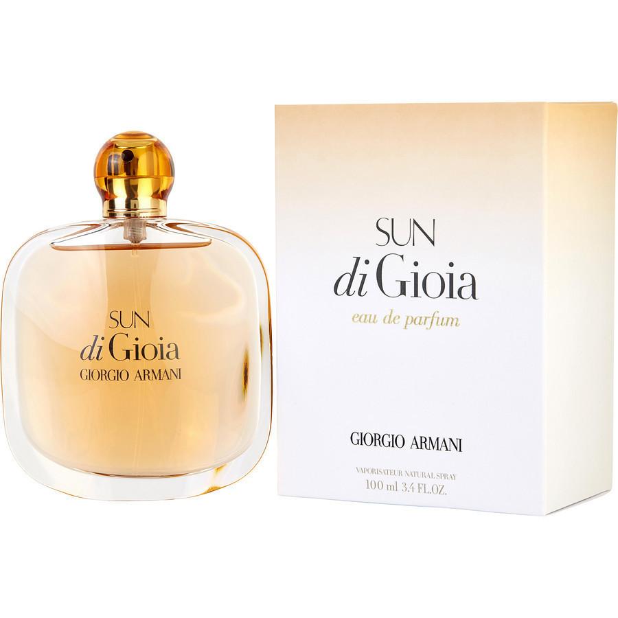 Парфюмированная вода женская Giorgio Armani Sun di Gioia 100ml (копия) - Женская парфюмерия