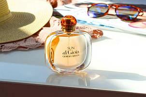 Парфюмированная вода женская Giorgio Armani Sun di Gioia 100ml (копия) - Женская парфюмерия, фото 2
