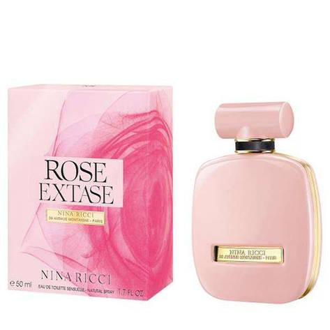 Туалетная вода женская Nina Ricci Rose Extase 80ml (копия) - Женская парфюмерия, фото 2
