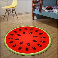 3d коврик безворсовый для дома 80 х 80 см - АРБУЗ