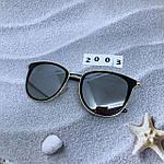 Стильные зеркальные солнцезащитные очки, фото 3