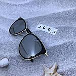 Стильные зеркальные солнцезащитные очки, фото 4