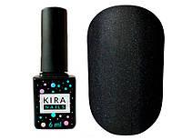 Kira Nails No Wipe Matte Top Coat, матовый закрепитель для гель-лака без лс, 6 мл
