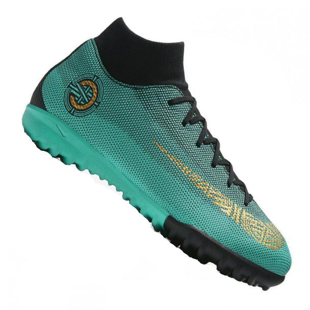 b5a0e093 Cороконожки детские Nike MercurialX SuperflyX 6 Academy GS CR7 TF 90  (AJ3112-390)