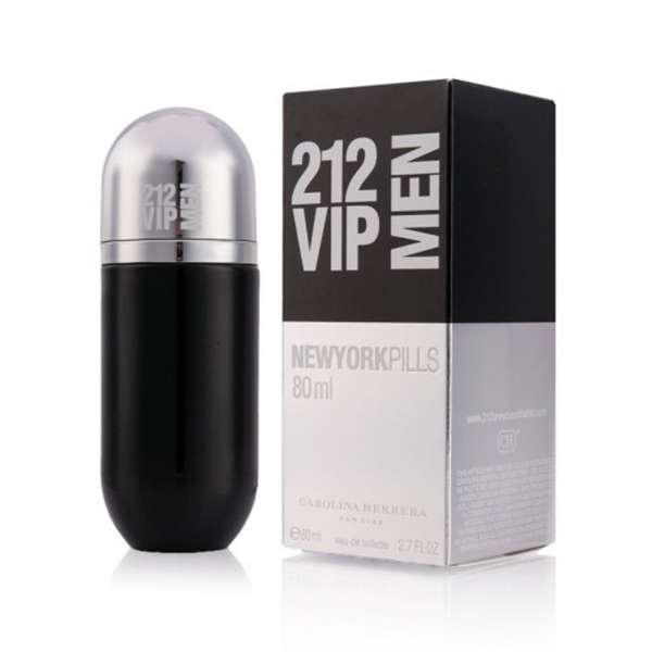 Туалетная вода мужская Carolina Herrera 212 VIP MEN New York Pills 80ml (копия) - Мужская парфюмерия