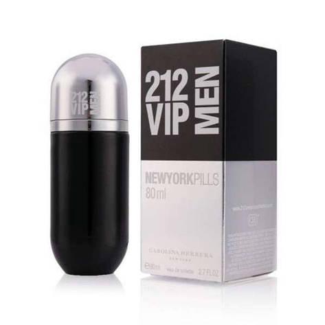 Туалетная вода мужская Carolina Herrera 212 VIP MEN New York Pills 80ml (копия) - Мужская парфюмерия, фото 2