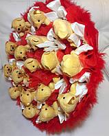 Букет Gift for Soul большой из игрушек 17 мишек РР 1490