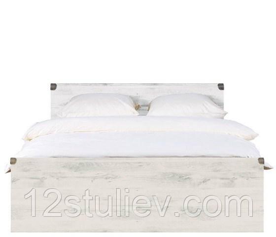 Кровать JLOZ 180 ( каркас ) Индиана Сосна Каньон БРВ