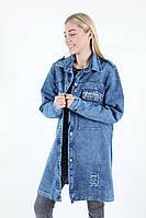 Кардиган джинсовый батального размера , фото 1