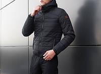 "Мужская куртка Pobedov - Jacket ""Progress"" Navy"