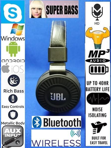 Беспроводные Bluetooth наушники JBL JB80 black edishion ( гарнитура )
