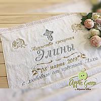 Коестильное полотенце с кружевом