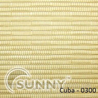 Рулонные шторы для окон в открытой системе Sunny, ткань Cuba