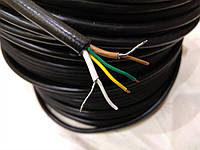 Отрезок кабеля 1,2м для катушки металлоискателя 2CY 4x0,25