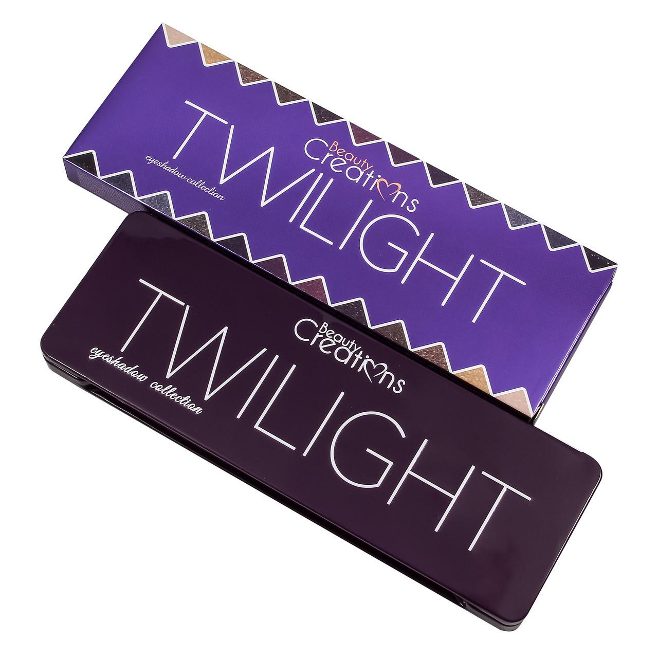 Тени Beauty Creations Twilight Eyeshadow Palette