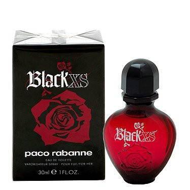 Туалетная вода женская Paco Rabanne Black XS Pour Femme 80ml (копия) - Женская парфюмерия, фото 2