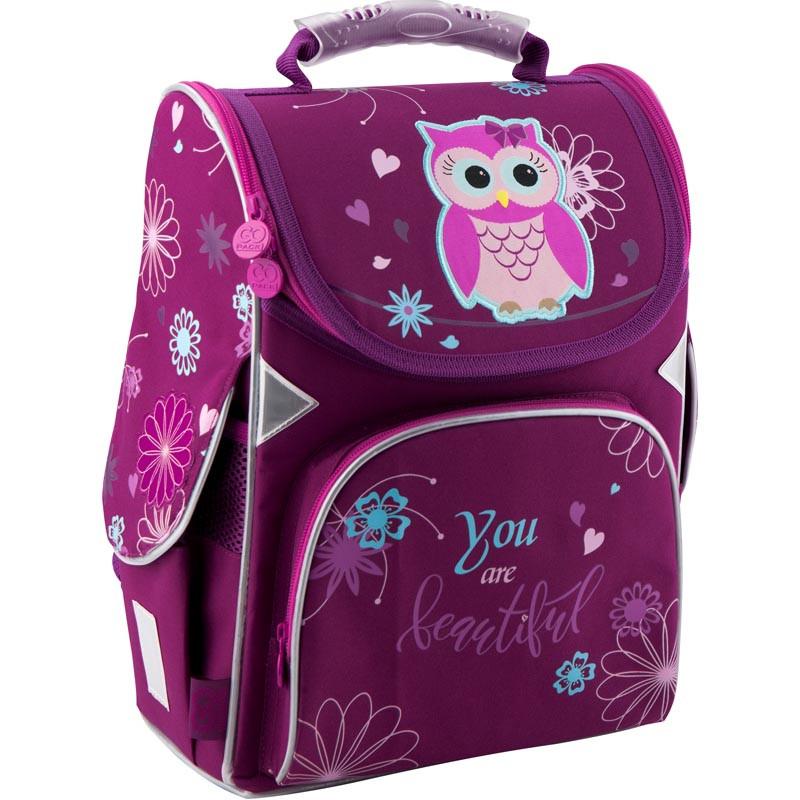 e8f8a7c4fc4e Рюкзак школьный каркасный GoPack 5001-5 - купить по лучшей цене в ...