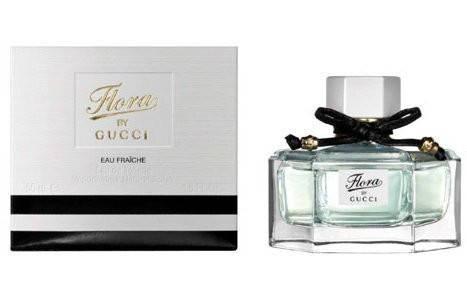 Туалетная вода женская Flora by Gucci Eau Fraiche 75ml (копия) - Женская парфюмерия, фото 2