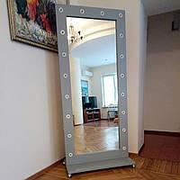 Зеркало с лампами Gray Angel