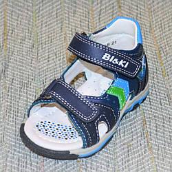 Дитячі сандалики на хлопчика, BiKi розміри: 21-24
