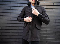 "Мужская куртка Pobedov -  Soft Shell Jacket ""Japan"" Black"