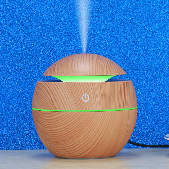 Увлажнитель - ароматизатор  воздуха WOOD светлый