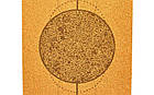 Коврик для йоги пробковый, каучуковый, двухслойный  Record, фото 6