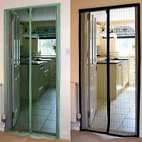 "Антимоскитная магнитная сетка ""Magic Mesh"" шторка на дверь, аналог штора,220х100"