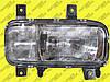 Фара основная с противотуманками р/ управления RH Mercedes Atego I 1997-2003 e-mark