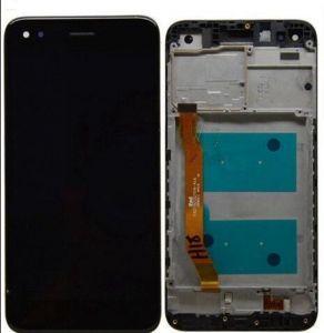 Дисплей Huawei Nova (CAN-L01, CAN-L11) черный в рамке без микросхемы с тачскрином