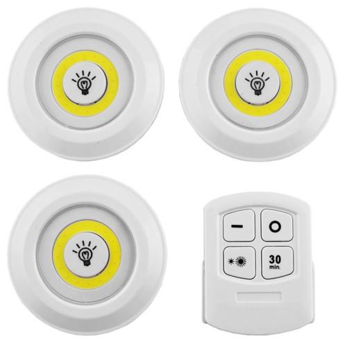 Комплект світлодіодних світильників 3+1, пульт ДУ