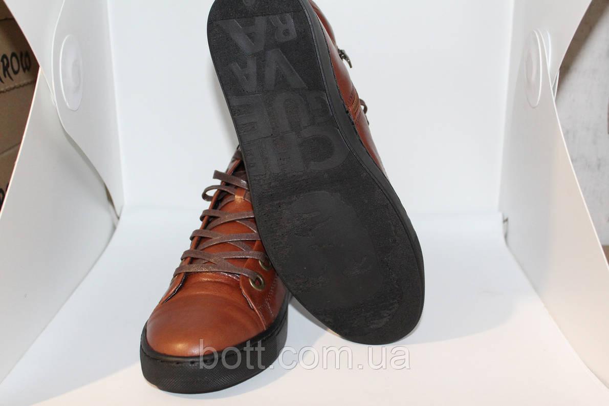 Конверсы коричневые высокие, фото 2