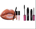 Подарочный набор Губы HUDA BEATY + Набор для макияжа глаз 2 в 1 (Подарунковий набір для жінок), фото 5