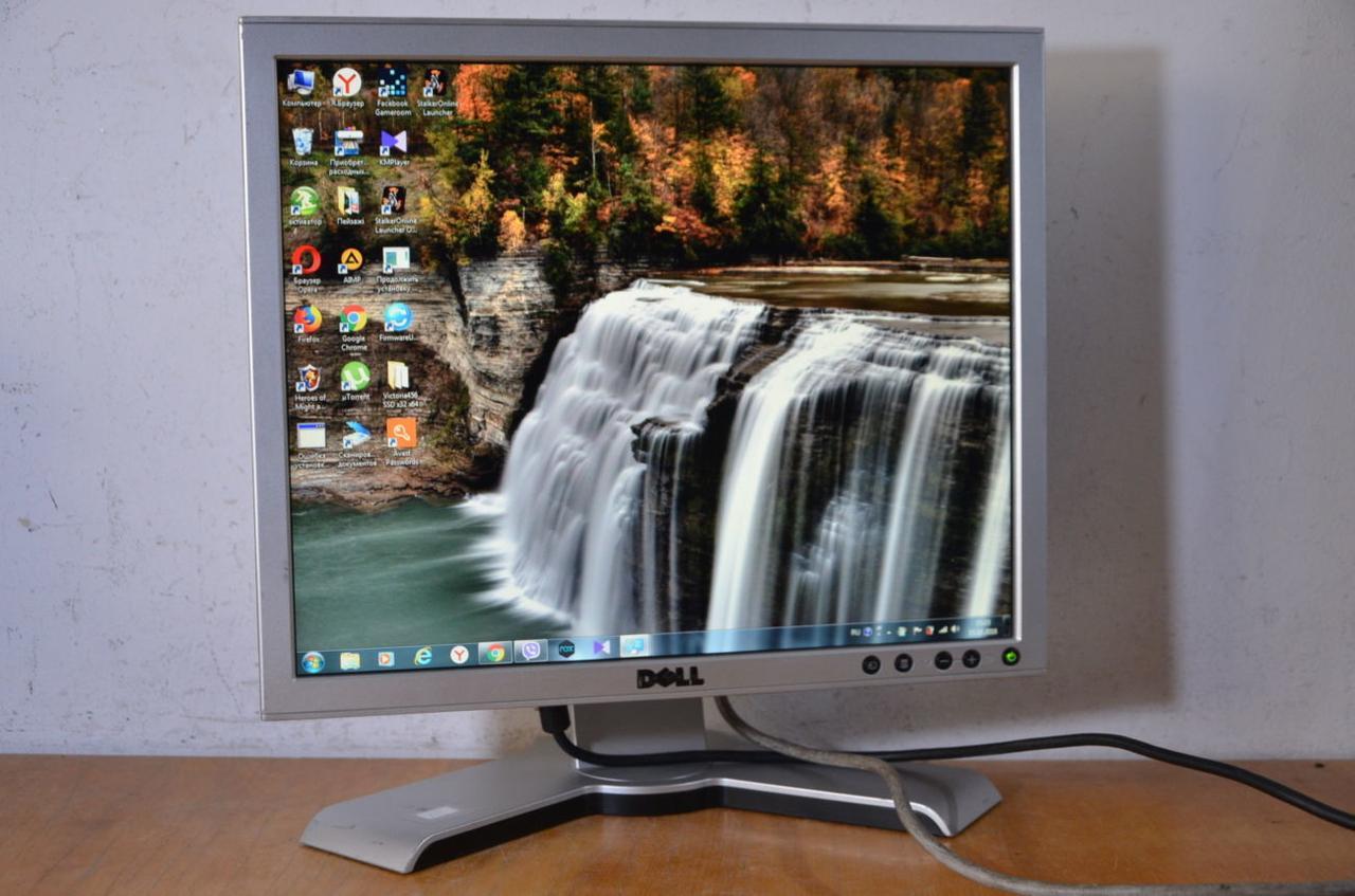 Монитор 17 дюймов квадратный  Dell 1280х768.Гарантия 30 дней