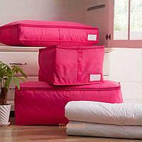 Сумка для одеял нейлоновая Genner 80х45х14 см М Фуксия (01100/03), фото 1