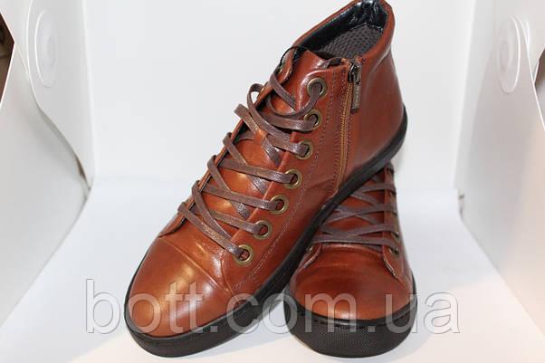 Converse кеды мужские коричневые, фото 3
