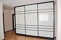 """3-х дверный белый шкаф-купе """"Версаль арт.80"""" в прихожую"""