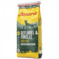 Josera (Йозера) Geflugel & Forelle - беззерновой корм для взрослых собак с птицей и форелью 15кг