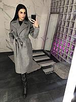 Пальто женское Diana-03 св.серое
