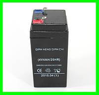 Аккумулятор Батарея 4V 4Ач для весов