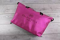 Женская сумка BALENCIAGA MODE (Баленсиага) - кожаная, большая, розовая