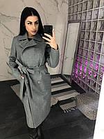 Пальто женское Diana-03 серое