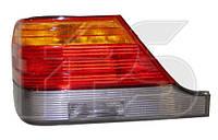 Mercedes W140 S-Class 1995-1998 Задние (правый) фонари фары задние для MERCEDES Мерседес W140 S-Class 1995-1998 желтая вставка