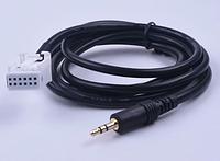 AUX кабель peugeot 307 308 407 408 507 для Citroen C2 C5 RD4 C-Quatre, фото 1